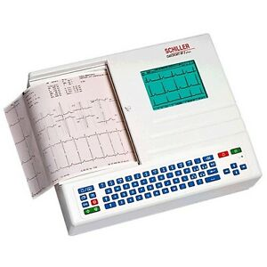 Schiller At 2 Plus Cardiovit Ecg ekg Interpretation Memory 9 025000c New