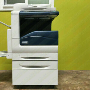 Xerox Workcentre 7525 Laser Color Bw Printer Scanner Copier 25ppm A3 Mfp 7556