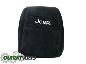 2005 2010 Jeep Grand Cherokee Center Console Armrest Cover With Jeep Logo New