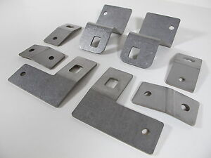 Mitsubishi Lancer Evo 7 8 9 Evolution 1 5 Lowering Front L r Seat Brackets Kit