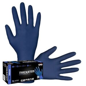 Sas Safety 6603 Thickster Large Textured Latex Glove 50 Box