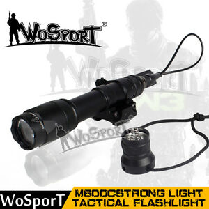 Element M600c Airsoft Fast Helmet Scout Strong Light Tactical Flashlight Torch