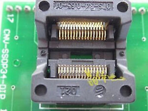 Ssop34 To Dip34 Ic Test Socket Programmer Adapter