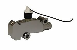 Chrome Brake Proportioning Valve For 4 Wheel Disc Brakes Pv4cpt