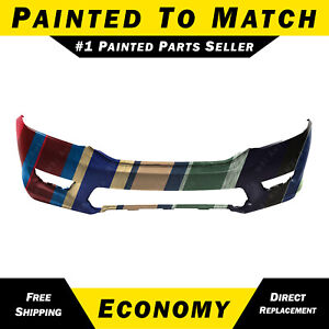 New Painted To Match Front Bumper Cover For 2013 2015 Honda Accord Sedan 13 15