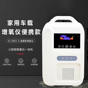 1l min Car Travel Portable Nebulizer Home Mini O2 Concentrator Generator Machine