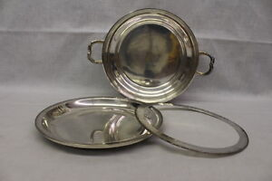 19th Century English Silverplate Warming Stand On Raised Feet