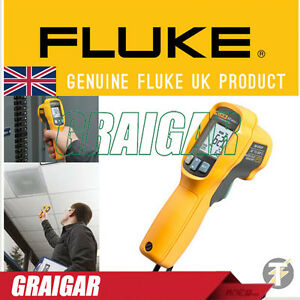 Fluke 62 Max Plus Ir Infrared Thermometer Thermal Temperature Reader New