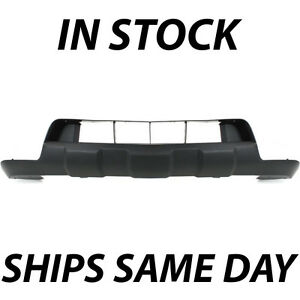 New Black Lower Front Bumper Cover Skid Pad For 2005 2016 Nissan Frontier Pickup
