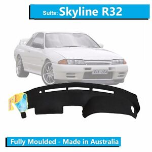 To Fit Nissan Skyline R32 1989 1993 Dash Cover Mat Molded Gtr