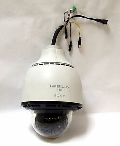Sony Ipela Hd Snc rh164 Rapid Outdoor Dome Network Camera With Ptz