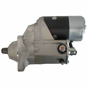 R39341 Starter For Case Wheel Backhoe Uni Loaders 80c 350b 1835b 1845b W11