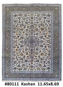 9x12 Kashan High Qulity Handmade Persian Carpet Rug