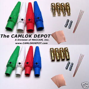 Camlok 2 0 4 0 Male Female In Line Single Phase Kit