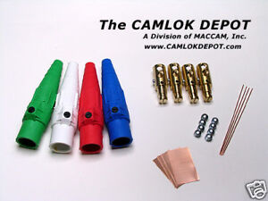 Cooper Camlok 2 0 4 0 Male Single Phase Kit