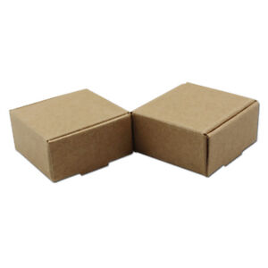 Kraft Paper Gifts Pack Box Brown Party Jewelry Wedding Packaging Packing Boxes
