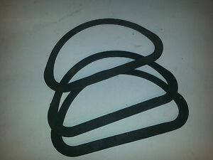 Holley 2300 Tripower Six Pack Chevy Dodge Plymouth Carb Air Cleaner Gaskets