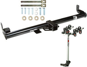 1997 06 Jeep Wrangler Trailer Hitch Complete Rola 3 bike Rack Carrier Package
