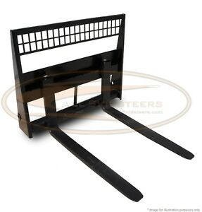Case Skid Steer 42 Standard Pallet Forks Loader Attachment Quick Tach