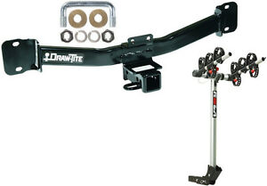 2004 2010 Bmw X3 Trailer Hitch Complete Rola 3 bike Rack Carrier Package New