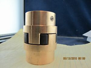 Bronze Shaft Jaw Coupler L100 Lovejoy 41130 Drill To Size a6s4