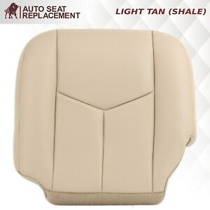 2006 2005 2004 2003 Chevrolet Tahoe Suburban Driver Bottom Seat Cover Tan 522