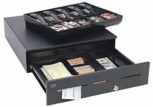 Mmf Cash Drawer Adv114b1132004 3 Slots Painted Front Abs 5 Bill 5 Coin