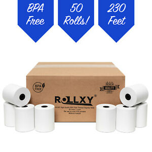 3 1 8 X 230 Thermal Pos Receipt Printer Roll Paper Bpa Free Usa 50 Rolls
