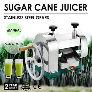 Manual Sugar Cane Press Juicer Mill crusher Machine Industrial home Powerful
