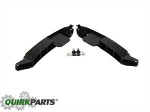 New Oem Mopar Genuine Rh Lh Front Bumper Side Bracket Kit 13 18 Dodge Ram 1500