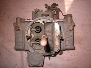 1967 Ford 391 Holley C7tf 9510 Ae Autolite C7tf Ae A 7fd 4 Barrel Carburetor