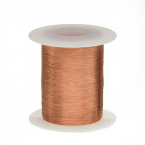 40 Awg Gauge Enameled Copper Magnet Wire 2 Oz 4152 Length 0 0034 155c Natural