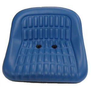 Cs668 8v Blue Seat Fits Ford New Holland 1110 1210 1310 1510 1710 1910