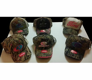 Mossy Oak LADIES Hats Many Styles SHIPS FAST Camo Hunting Chevy Ford Cowgirl $8.95