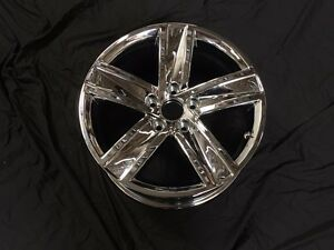69951 Vw Cc 13 14 17 Inch 5 Spk Chrome Alloy Wheel Set Of 4 Outright
