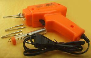 Electromagnetic Induction Soldering Iron Gun Heavy Duty Ac 220v Tested Works