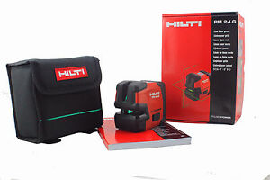 Hilti Pm 2 lg Green Line Laser Hilti Laser Level Included Magnetic Pivot Bracket