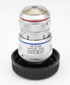 Zeiss Plan Neofluar 40x 0 90 160mm Ph3 Imm Microscope Objective Oil Glyc Water