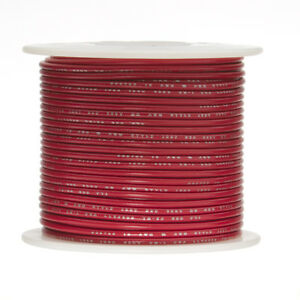 26 Awg Gauge Solid Hook Up Wire Red 1000 Ft 0 0190 Ul1007 300 Volts