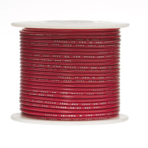 28 Awg Gauge Stranded Hook Up Wire Red 1000 Ft 0 0126 Ul1007 300 Volts