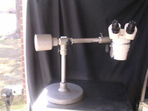 Olympus Sz Stereozoom Microscope Boomstand W G10x