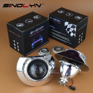 2 5 Bi Xenon Projector Lens Headlights Retrofit For Bmw 3 E46 Non Projector