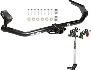 Trailer Hitch For 09 16 Toyota Venza Complete Rola 3 bike Rack Carrier Package