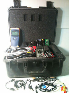 Fluke Networks Net Tool Series Ii Greenlee Tester With A Bunch Of Accessories