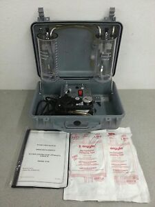 New Impact 317m Surgical Suction pressure Apparatus Pump 2 Tubes Manual