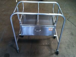Stainless Steel Cart Rolling Bar Cart Medical Cart