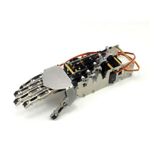 5 Fingers 5dof Claw Manipulator Arm Right Hand W 5pcs Servos For Arduino Robot