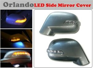 Led Light Side Mirror Cover 1 Way For Chevrolet Orlando 2011 on