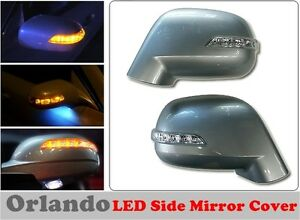 Led Light Side Mirror Cover 3 Way For Chevrolet Orlando 2011 on