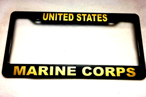 Military License Plate Frame United States Marine Corps Abs 841121g